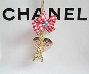 chanel, necklace, and paris image