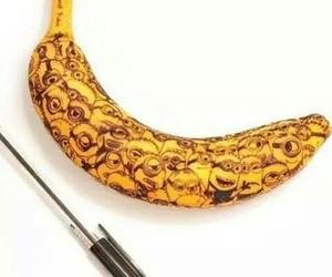 minions, banana, and art image