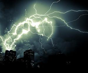 night, nature, and city image