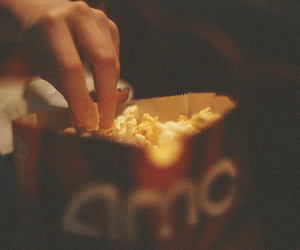 popcorn, photography, and vintage image
