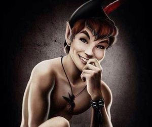 peter pan, disney, and sexy image