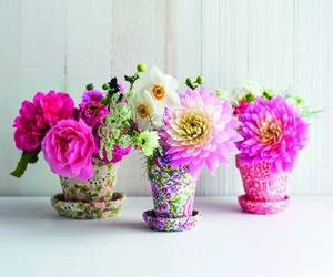 flowers, pink, and girly image