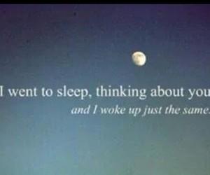 always, you, and fall asleep image