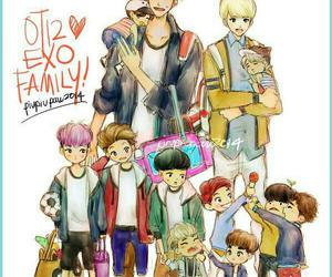 exo, kris, and ot12 image