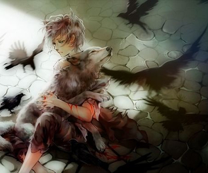 boy, manga, and sad image