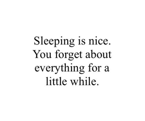 quote, sleep, and sleeping image
