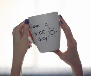 sun, mug, and nails image