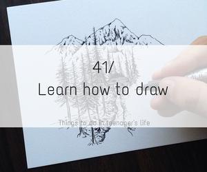life, art, and draw image
