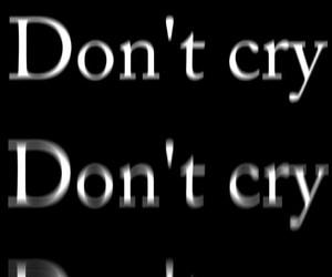 cry, sad, and black image