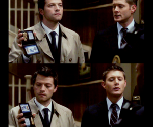 supernatural, dean winchester, and fbi image