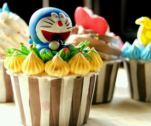 butterfly, cupcakes, and duck image