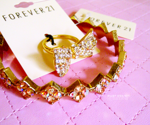 forever 21, ring, and cute image