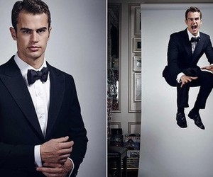 theo james, Hot, and suit image