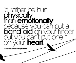 heart, emotions, and hurt image