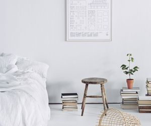 white, room, and simple image