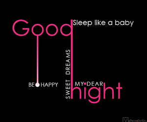 baby, good night, and goodnight image
