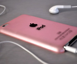 ipod, pink, and apple image