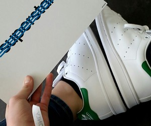 adidas, superstar, and stan smith image
