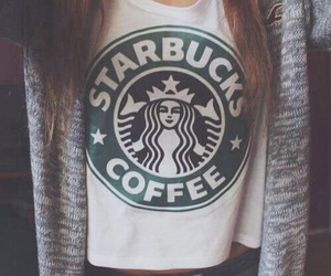 starbucks, coffee, and outfit image