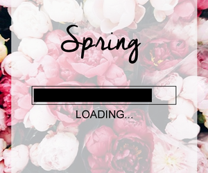 flowers, spring, and loading image