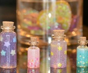glitter, cute, and stars image