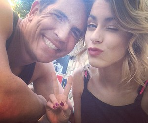 martina stoessel, diego, and german image