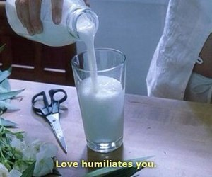 love, quotes, and milk image