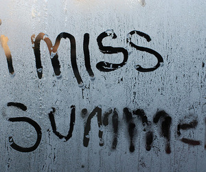 summer, winter, and miss image