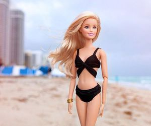 barbie, beach, and doll image
