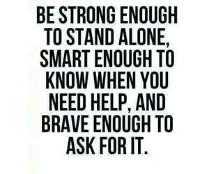 quotes, strong, and brave image