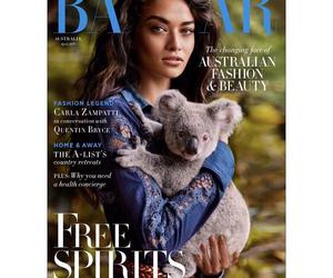 australia, cover, and shanina shaik image