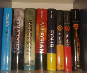 four, hunger games, and colpa delle stelle image