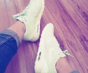 air max, girl, and mint image