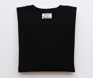 black, fashion, and acne studios image