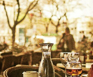 cozy, table, and sidewalk cafe image