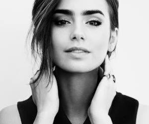 lily collins, beautiful, and beauty image