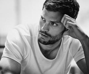 Jamie Dornan, man, and christian grey image