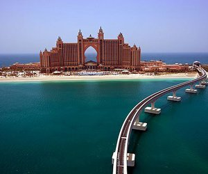 Dubai, sea, and luxury image