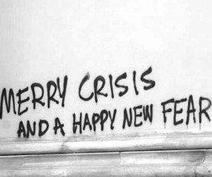 fear, grunge, and christmas image