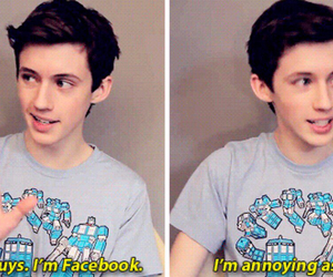 facebook and troye sivan image