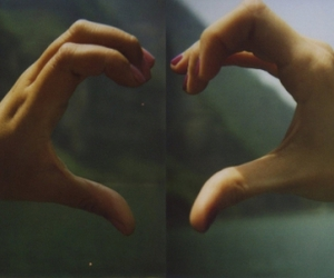 hands, heart, and photography image