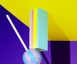 color, lollipop, and sweet image