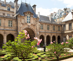 architecture, garden, and paris image