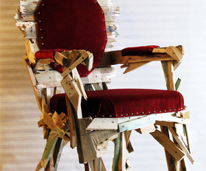 chair, diy, and nails image