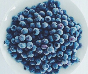 food, blueberry, and fruit image