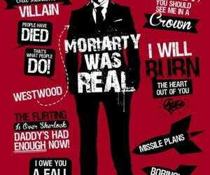 sherlock, moriarty, and bbc image