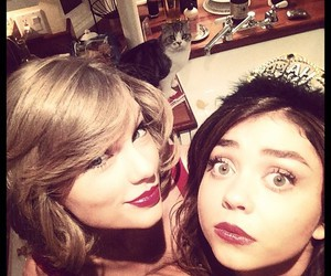 Taylor Swift and sarah hyland image
