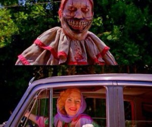 lol, ahs, and clown image