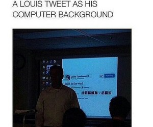 twit and louis tomlinson image