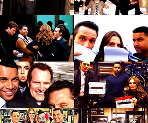 behind the scenes, nathan fillion, and castle image